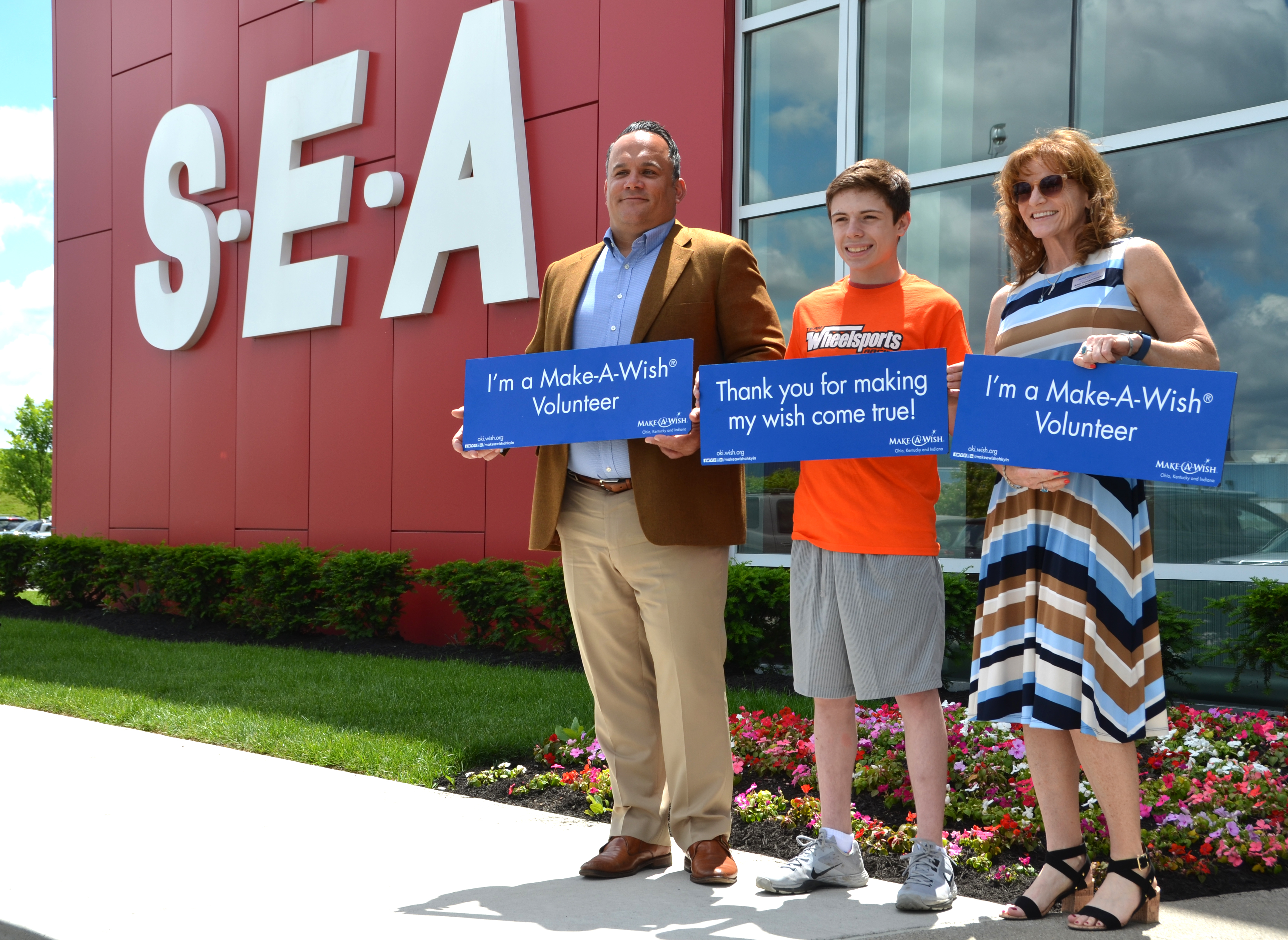 S-E-A Hosts Make-A-Wish® in Columbus