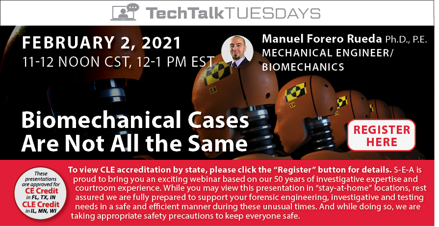 Join us for a Webinar on Biomechanical Engineering!