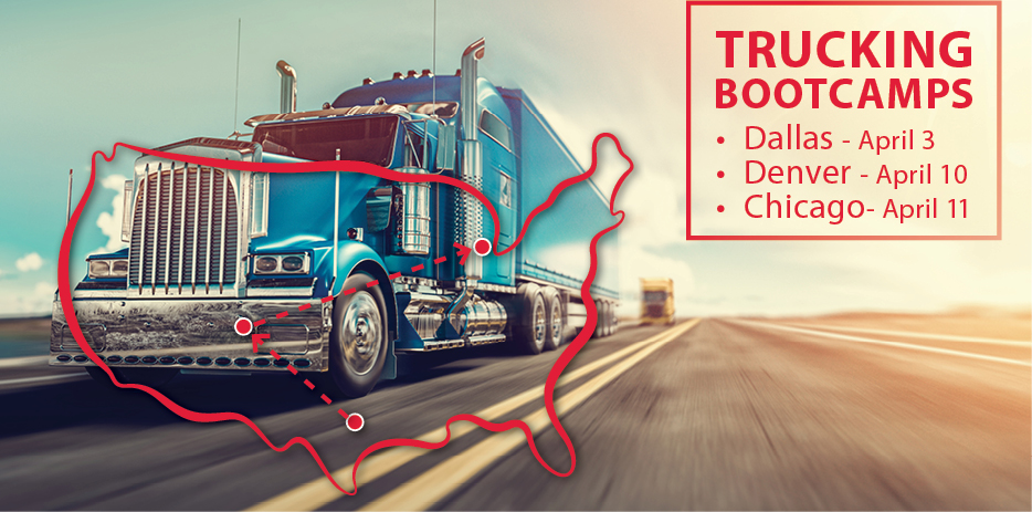 On the Road with Trucking Boot Camps