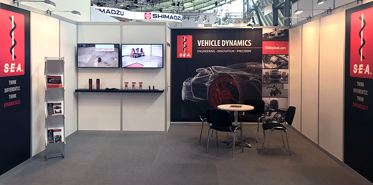 S-E-A Vehicle Dynamics Group at the Automotive Testing Expo in Stuttgart, Germany