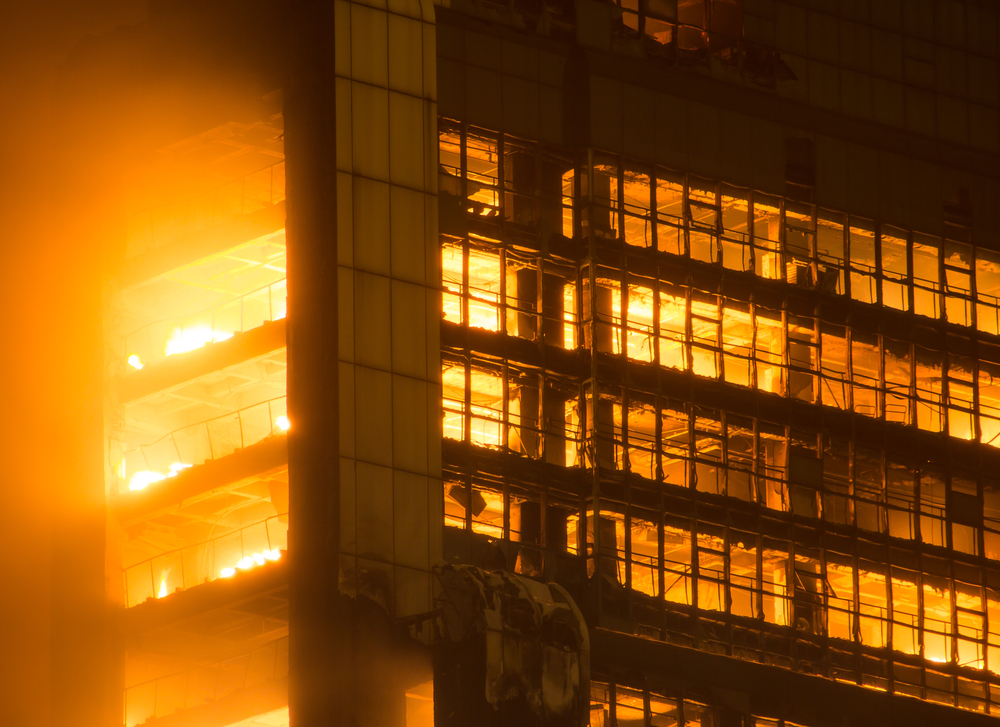 Risk Factors Contributing to High-Rise Fire Deaths in 2017